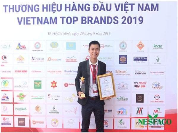 Nesfaco Lọt Top 100 Thương Hiệu Hàng Đầu Việt Nam