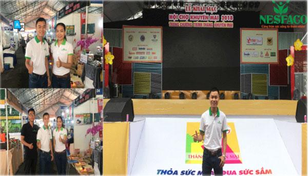 Nesfaco tham gia hội chợ xúc tiến thương mại