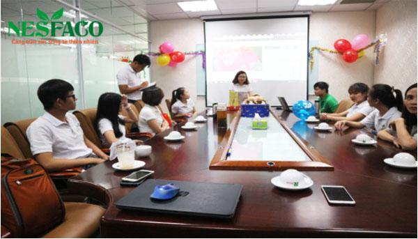 Nesfaco tổ chức sinh nhật cho nhân viên