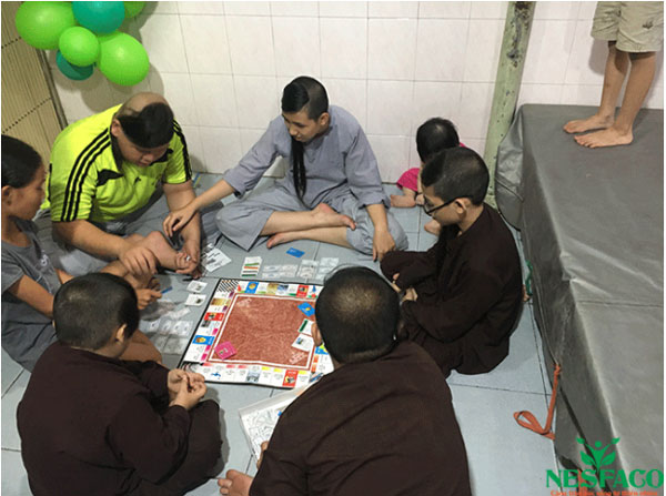 Nesfaco và chuyến thiện nguyện đến chùa Linh Sơn