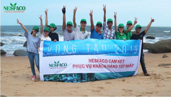 Nesfaco tổ chức hoạt động team building
