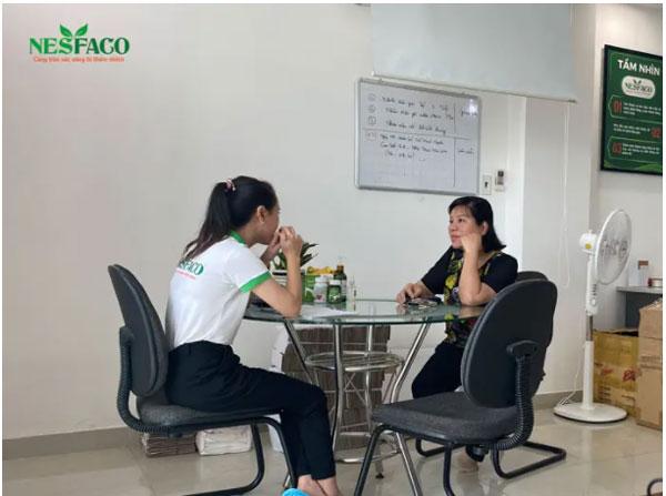 tư vấn tiểu đường cho chị Minh Thanh